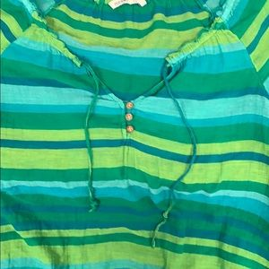 Old Navy Tops - Old navy green, blue, yellow short sleeve top
